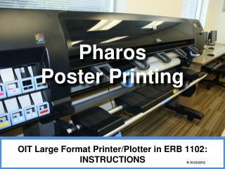 Pharos  Poster Printing