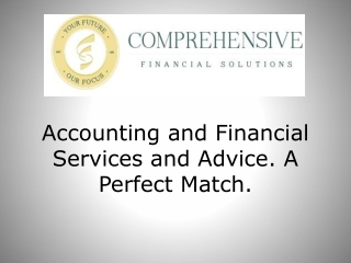 Accounting and Financial services and advice