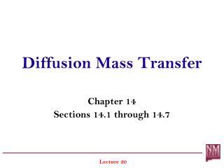 Diffusion Mass Transfer