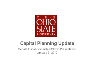 Capital Planning Update