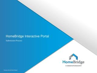 HomeBridge Interactive Portal