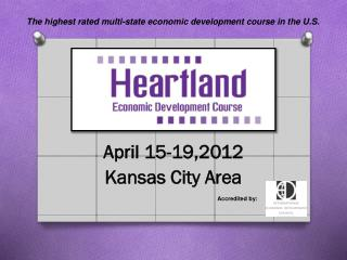 April 15-19,2012 Kansas City Area