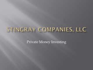 Stingray companies,  llc