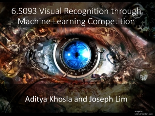 6.S093 Visual Recognition through Machine Learning Competition