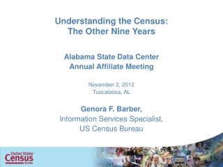 Understanding the Census: The Other Nine Years