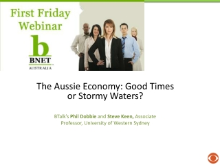 The Aussie Economy: Good Times or Stormy Waters?
