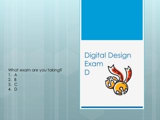 Digital Design Exam D