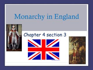 Monarchy in England