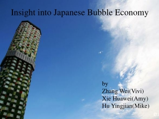 Insight into Japanese Bubble Economy