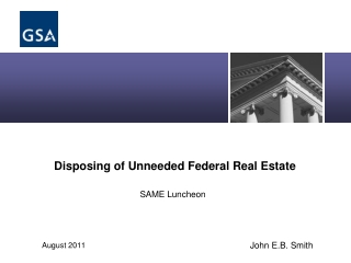 Disposing of Unneeded Federal Real Estate