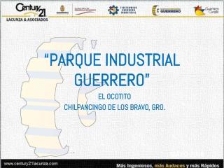 """""""PARQUE INDUSTRIAL GUERRERO"""""""