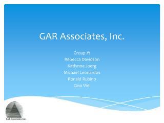 GAR Associates, Inc .