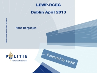 LEWP-RCEG Dublin April  2013