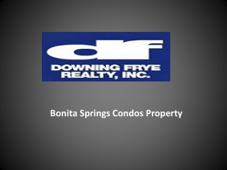 Bonita  Springs Condos  Property