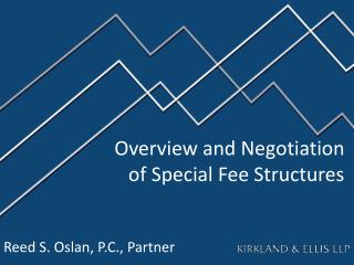 Overview and Negotiation  of Special Fee Structures