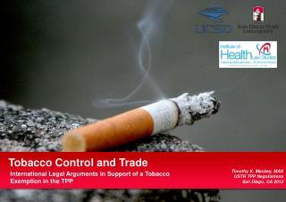 Tobacco Control and Trade