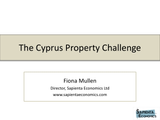 The Cyprus Property Challenge
