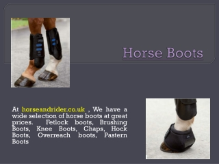 Horse Grooming Supplies