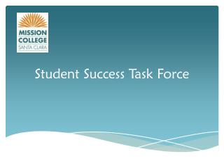 Student Success Task Force