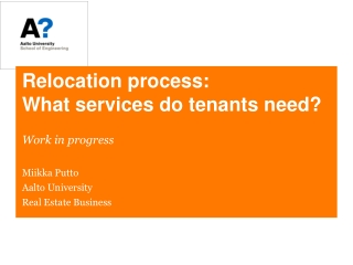 Relocation process: What services do tenants need?