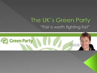 The UK's Green Party