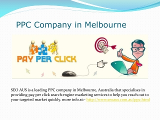 PPC Company in Melbourne
