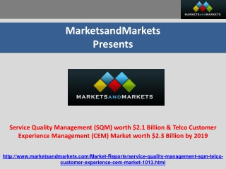 Service Quality Management Market
