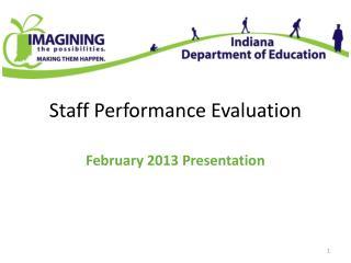 Staff Performance Evaluation