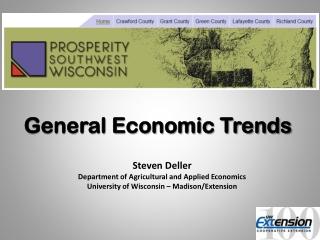 General Economic Trends