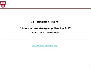 IT Transition Team