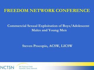 FREEDOM NETWORK CONFERENCE