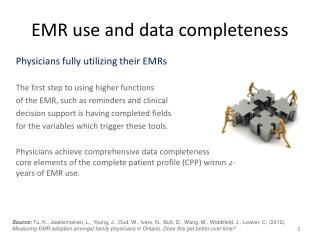 EMR use and data completeness