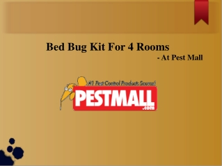 Bed Bug Kit For 4 Rooms