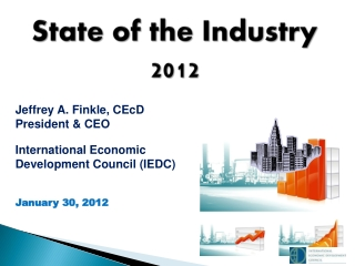 State of the Industry  2012