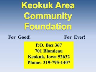 Keokuk Area Community Foundation