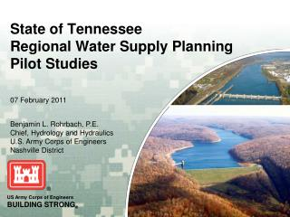 State of Tennessee Regional Water Supply Planning Pilot Studies