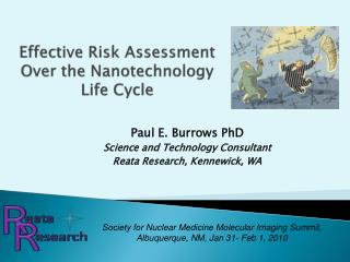 Effective Risk Assessment Over the Nanotechnology Life Cycle