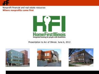 Presentation to Arc of Illinois: June 6, 2012