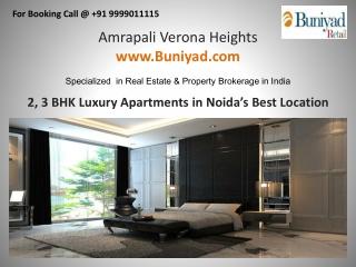 Amrapali Verona Heights www.Buniyad.com