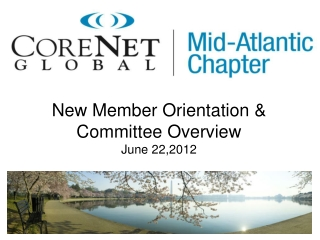 New  Member  Orientation & Committee Overview June 22,2012