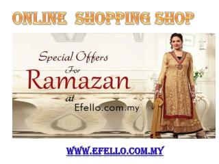 Online Indian Clothes shop