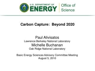 Carbon Capture: Beyond 2020