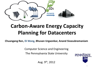 Carbon-Aware Energy Capacity  Planning for Datacenters