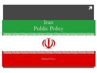 Iran  Public Policy