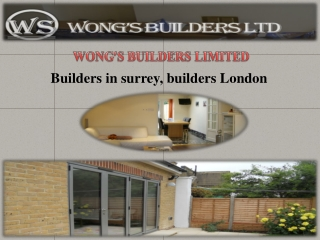 Meet With The Best Builders In Surrey
