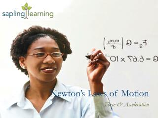 Newton�s Laws of Motion