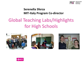 Global Teaching Labs/Highlights  for High Schools