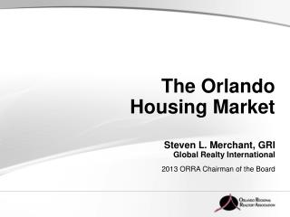The Orlando Housing Market