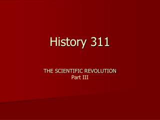 History 311