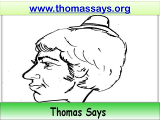 Thomas Says Society - Writing Dates With Numerals Order